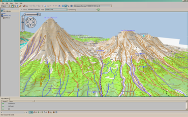 Скриншоты карт в навигаторе Garmin Oregon: